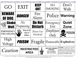 Safety Word Inventory and Literacy Screener